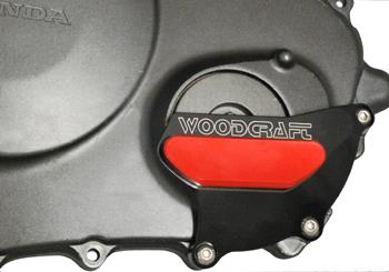 ひまわりモータースファクトリー HMF エンジンカバー 仕�:アルミスキッドパッド� CBR1000RR